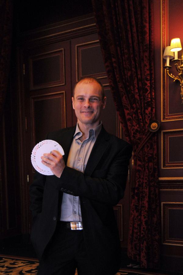 Magic Antoine pour un spectacle pour enfant